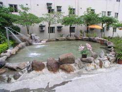 露天SPA水療池